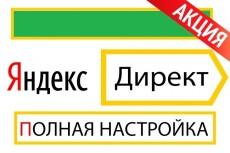 Настрою директ под ключ честно 23 - kwork.ru