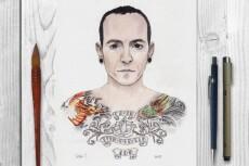 Нарисую иллюстрацию или эскиз для тату 11 - kwork.ru