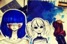Создам эскизы персонажей для игр 11 - kwork.ru
