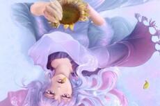 Нарисую простую картинку, иллюстрацию в цвете 19 - kwork.ru