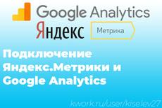 Настрою цели на вашем сайте в Яндекс Метрике 14 - kwork.ru