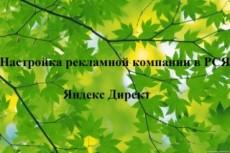 Создание кампании Яндекс. Директ - РСЯ 12 - kwork.ru