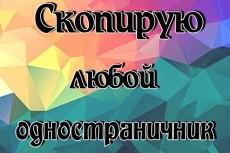 Скопирую landing page 36 - kwork.ru