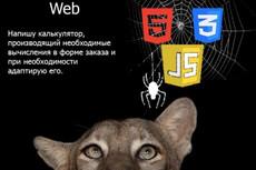 Напишу калькулятор для сайта 7 - kwork.ru