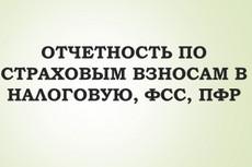 Составлю нулевую отчетность в ИФНС, ПФР, ФСС 7 - kwork.ru