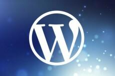 Производство сайтов и лэндингов на Wordpress 19 - kwork.ru