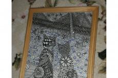 Нарисую иллюстрацию черной гелевой ручкой 15 - kwork.ru
