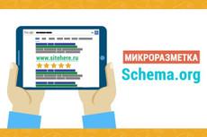 Микроразметка для интернет-магазина на OpenСart 17 - kwork.ru