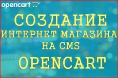 Установлю шаблон на Opencart 5 - kwork.ru