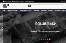 Готовый интернет-магазин (тематика: аквариум,рыбки,корма) 3 - kwork.ru