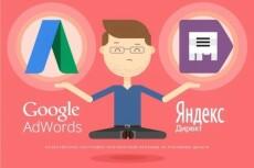Настрою контекстную рекламу в Директ или Adwords 7 - kwork.ru