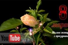 создам 3 HD интро ролика для вашего сайта или канала 10 - kwork.ru