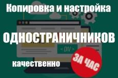 Лендинг на LP Платформа 9 - kwork.ru