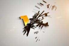 Анимированную заставку вашего логотипа, сайта, фирмы 30 - kwork.ru