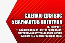 Качественный логотип за 1 день 5 - kwork.ru