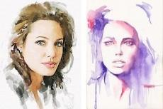 Нарисую ваш портрет акварелью 21 - kwork.ru