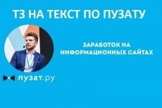 Профессиональное ТЗ для написания информационной статьи 7 - kwork.ru