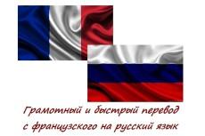 Сделаю перевод с французского на русский 17 - kwork.ru