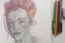 Нарисую настоящий профессиональный портрет карандашом 23 - kwork.ru