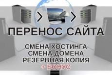 Перенос или копирование сайта с хостинга на хостинг 23 - kwork.ru
