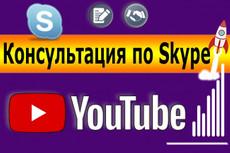 Консультация по Skype. Расскажу как стать популярным на YouTube 4 - kwork.ru