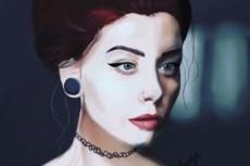 Качественный портрет акварелью 23 - kwork.ru