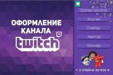 Сделаю оверлей для вашего Twitch канала 18 - kwork.ru