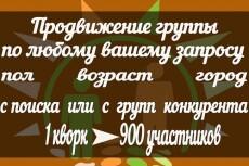 Макрос приглашения в группу 4 - kwork.ru