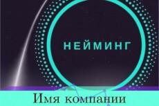 Нейминг. Разработка названия компании, бренда. 1 кворк - 5 вариантов 14 - kwork.ru