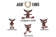 Логотип в векторе 18 - kwork.ru