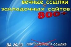 Создам вручную 15 обратных ссылок с жирных доменов 9 - kwork.ru
