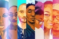 Polygon Стиль. Аватарки и портреты 14 - kwork.ru