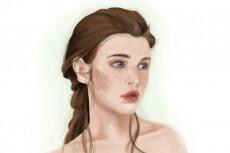 Напишу портрет в электронном виде 21 - kwork.ru