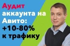 Турбо-Продажа на Авито со скидкой до 80% (Экономия на Avito - до 60 000 в месяц) 19 - kwork.ru