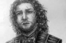 Нарисую портрет по фотографии от руки карандашом 13 - kwork.ru