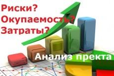 Разработка математической модели эффективности инвестиций 7 - kwork.ru