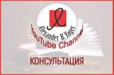 Консультация главного бухгалтера 18 - kwork.ru