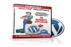Обучение работе с Wordpress для начинающих 6 - kwork.ru
