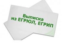 Закажу выписку из егрюл или егрип 12 - kwork.ru