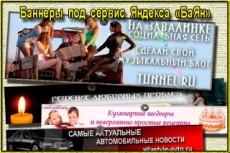 Эффектные продающие баннеры для сайта и соц.сетей 15 - kwork.ru