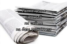 Настройка шаблона Wordpress + русификация + чистка 5 - kwork.ru