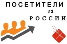 От 15000 качественных посещений из России 7 - kwork.ru