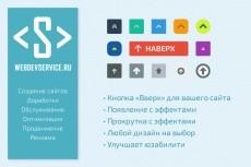 Фиксированное меню при прокрутке страницы 33 - kwork.ru