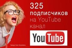 Подписчики в Youtube 19 - kwork.ru