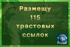 Размещение ссылок с анкором в профилях более 1 000 вечных ссылок 8 - kwork.ru