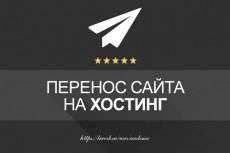 Перенос сайта на новый хостинг, Wordpress, DLE, Joomla, Bitrix 4 - kwork.ru