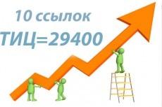 15 трастовых ссылок;ТИЦ=149400 3 - kwork.ru