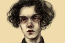 Стилизованный портрет 28 - kwork.ru