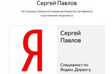 Новый Сертификат Яндекс Директ. Помощь в сдаче экзамена Яндекс Директ 22 - kwork.ru