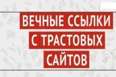 Размещение ссылок на трастовом ресурсе в тематической статье 25 - kwork.ru